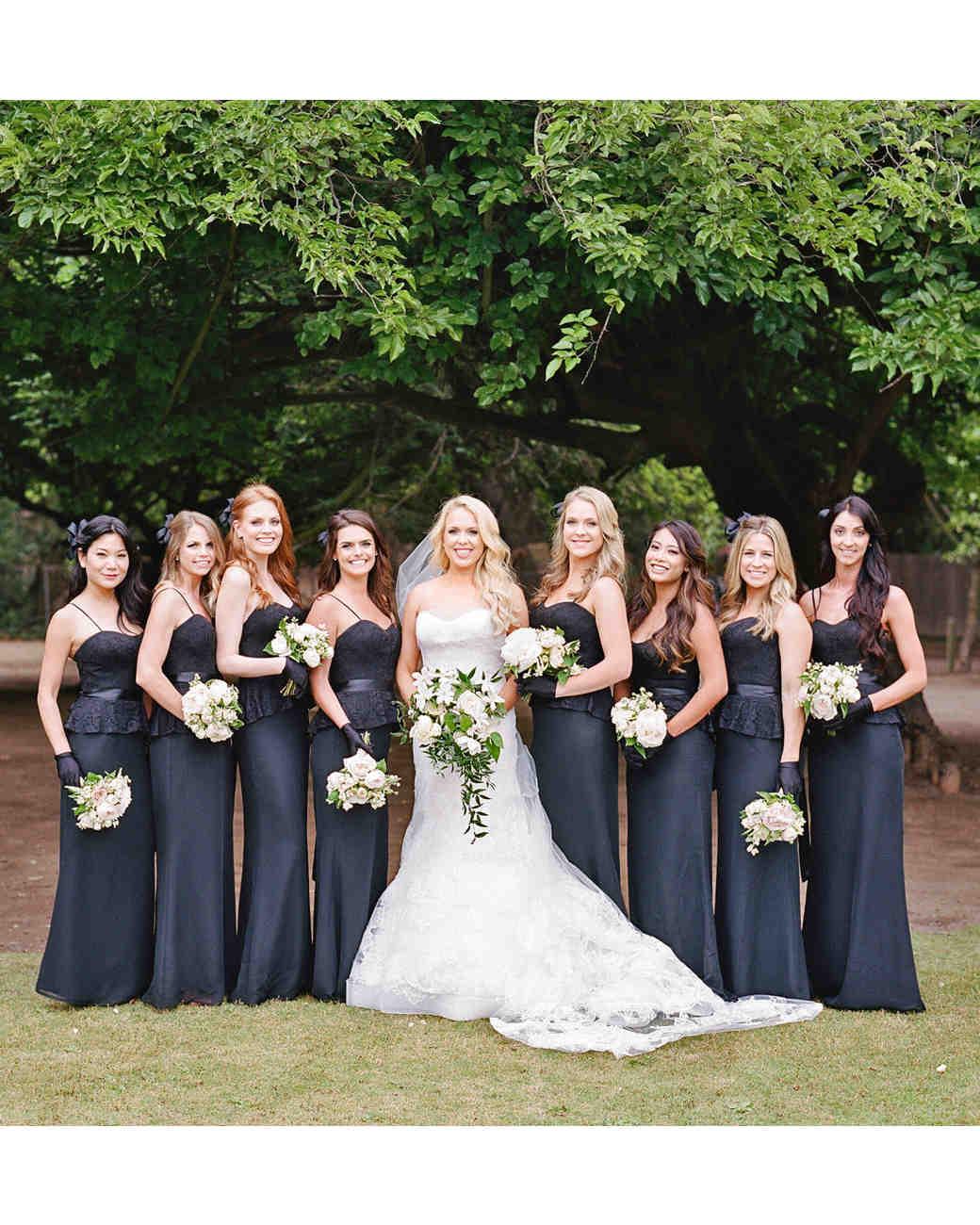 shannon jon wedding bridesmaids