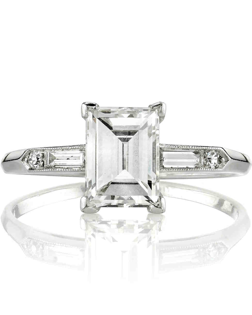 Single Stone Diamond Wedding Ring