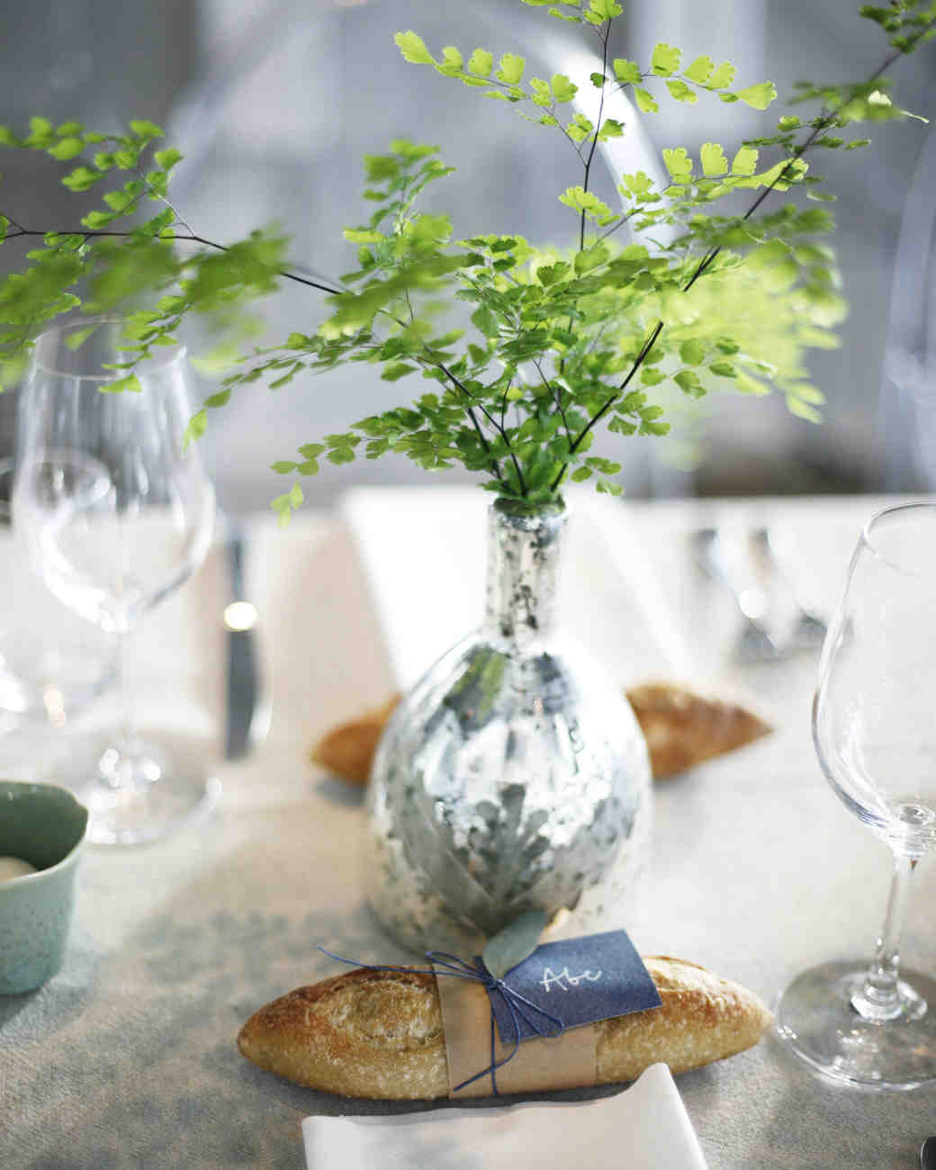 tommy steve wedding placesetting