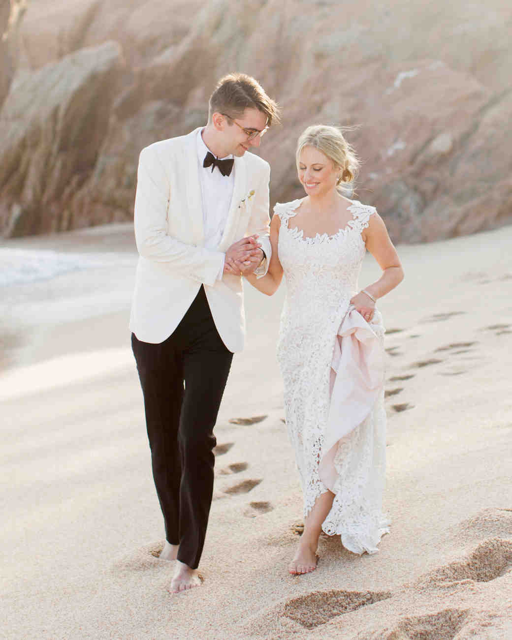 Veronica and Mathieu's Chic Oceanside Mexico Wedding
