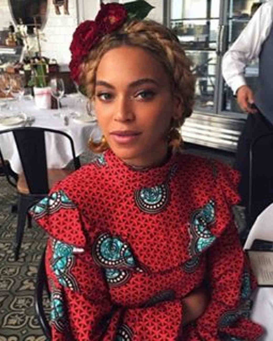 15 Beyonc 233 Inspired Ways To Rock A Flower Crown For The