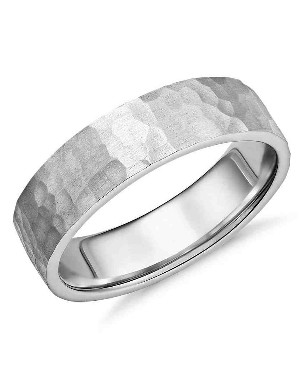 10 Unique Men S Wedding Bands Martha Stewart Weddings