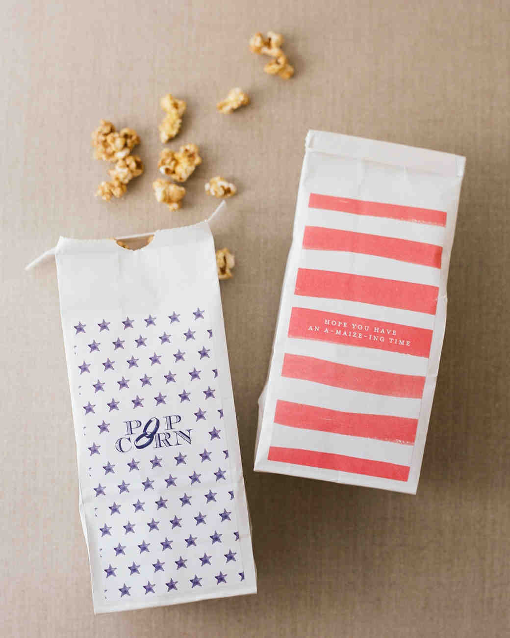 patriotic party popcorn