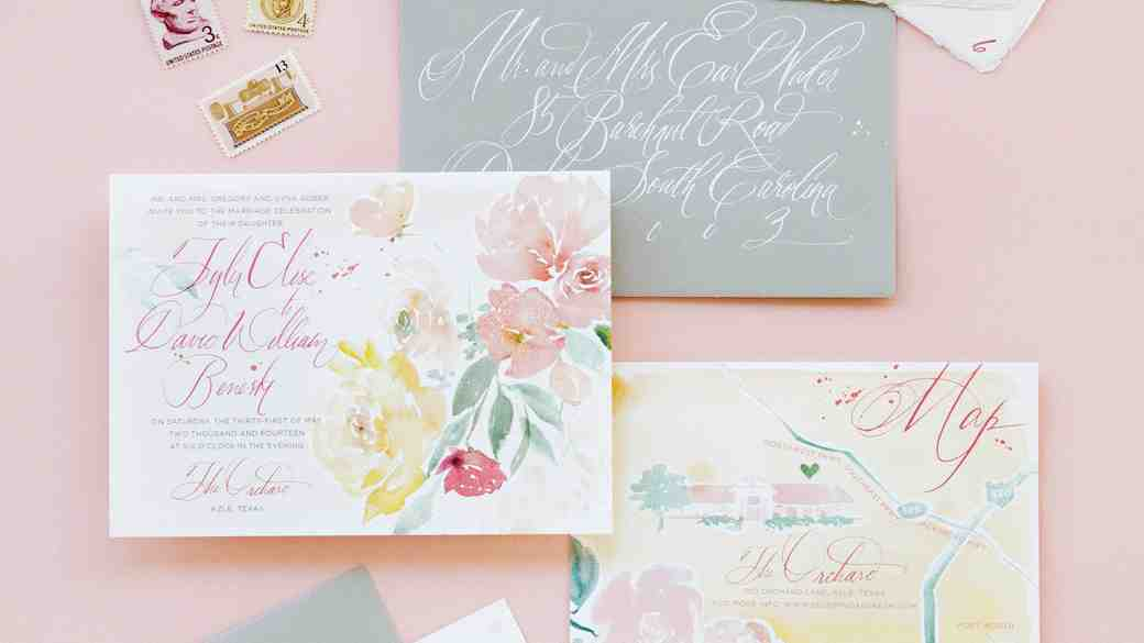 35 Dreamy Watercolor Wedding Ideas