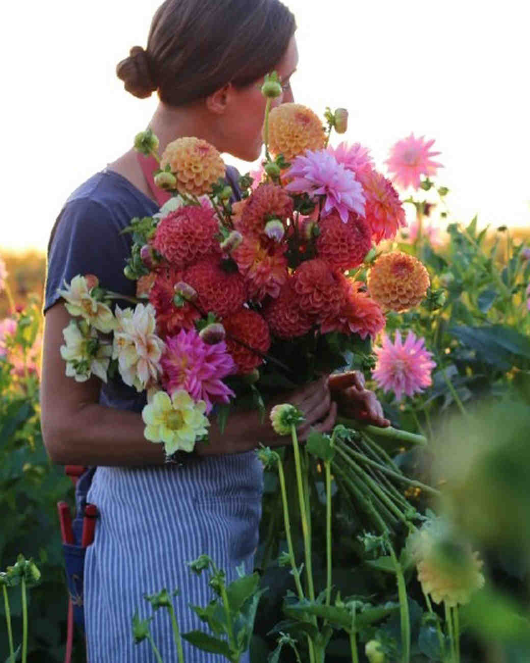 Doing Your Own Flowers For A Wedding: 10 Floral Designers Creating Fresh From The Farm