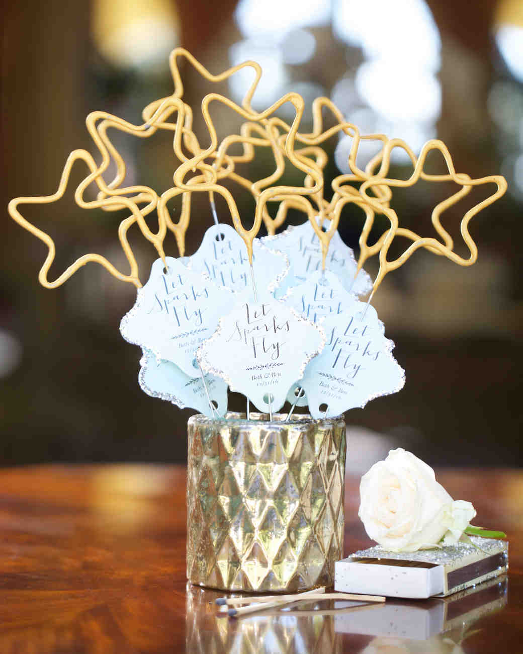 Star Wedding Sparklers