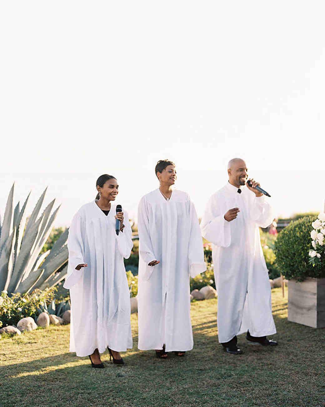 wedding gospel singers