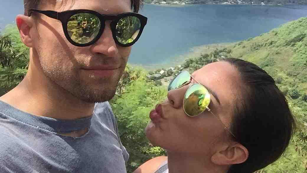 Katie Maloney-Schwartz and Tom Schwartz on Honeymoon in Moorea