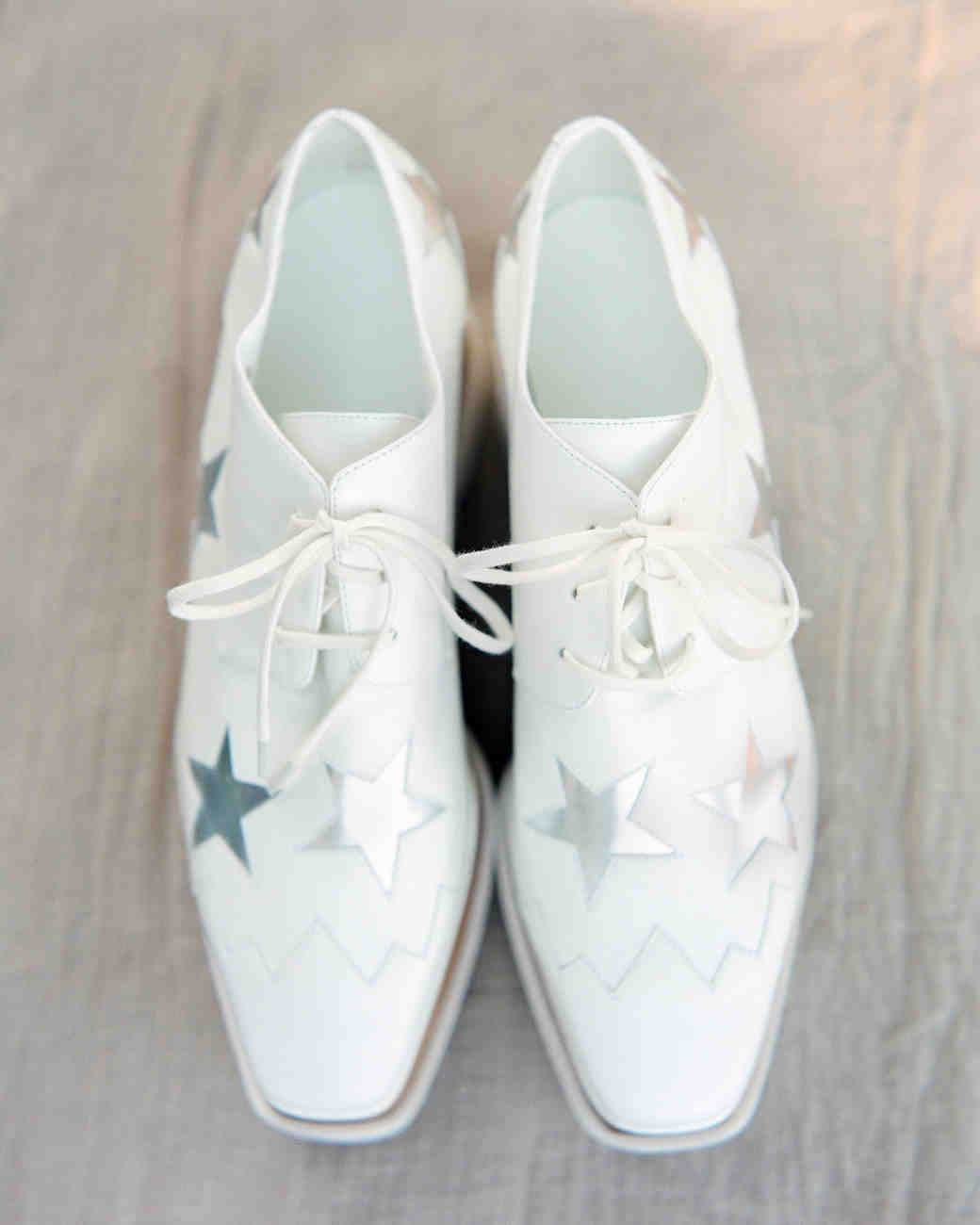 Starry Wedding Shoes