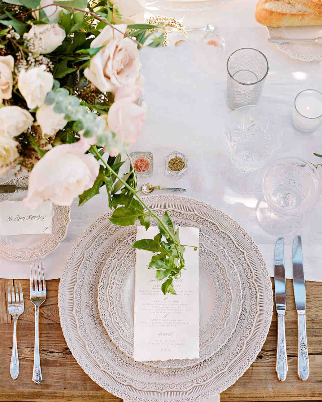 aislinn eric wedding malibu table setting