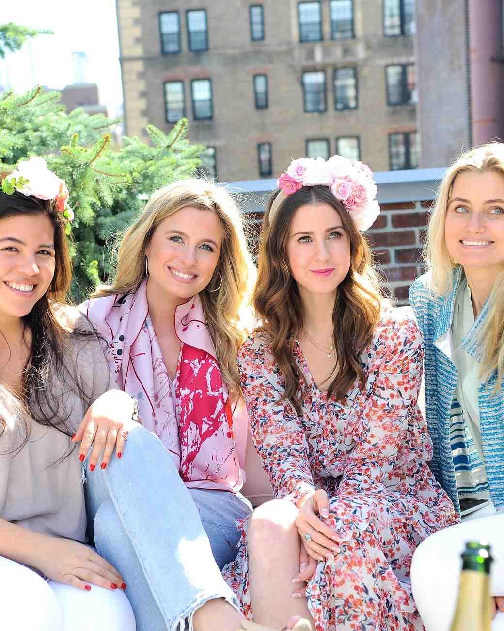 Annie Atkinson's Bridal Shower Guests