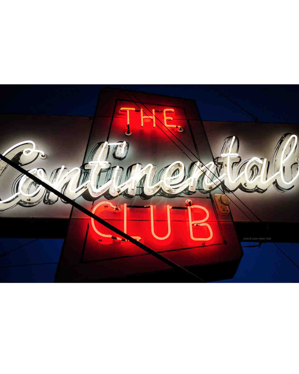 the continental club sign