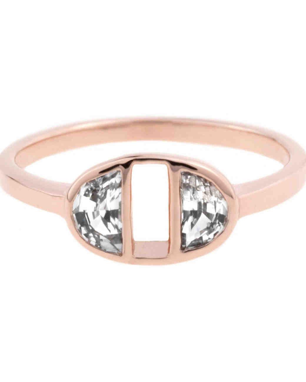 Bario Neal Half-Moon Ring
