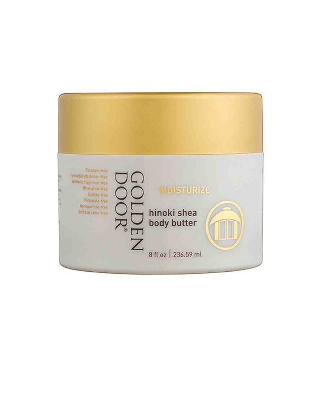 body cream golden door hinoki shea body butter