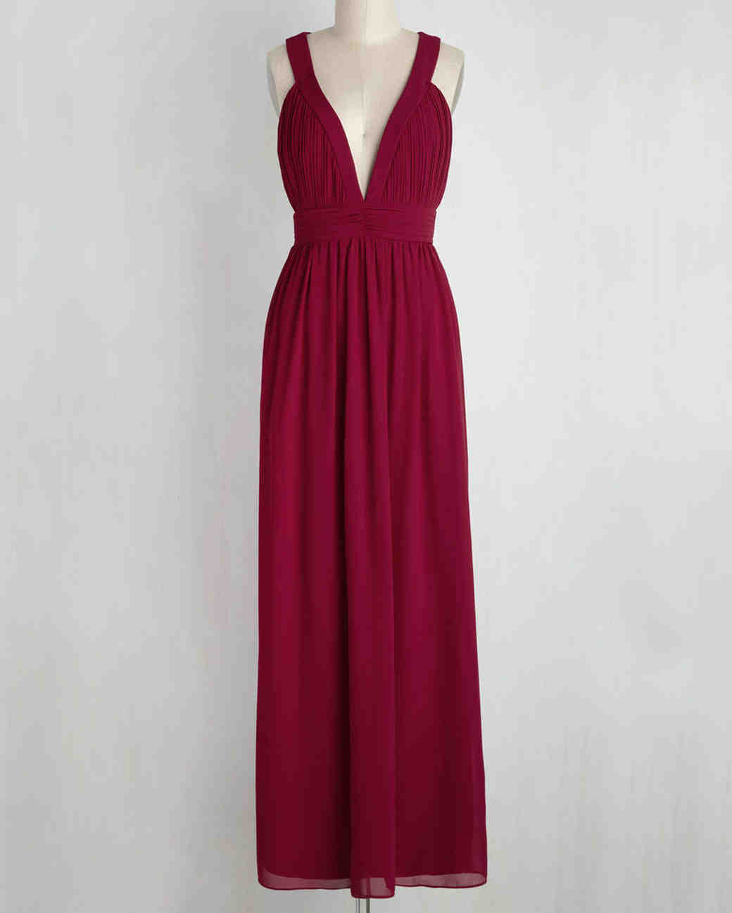 "burgundy bridesmaid dress – Modcloth ""Glamour Out the Details"""