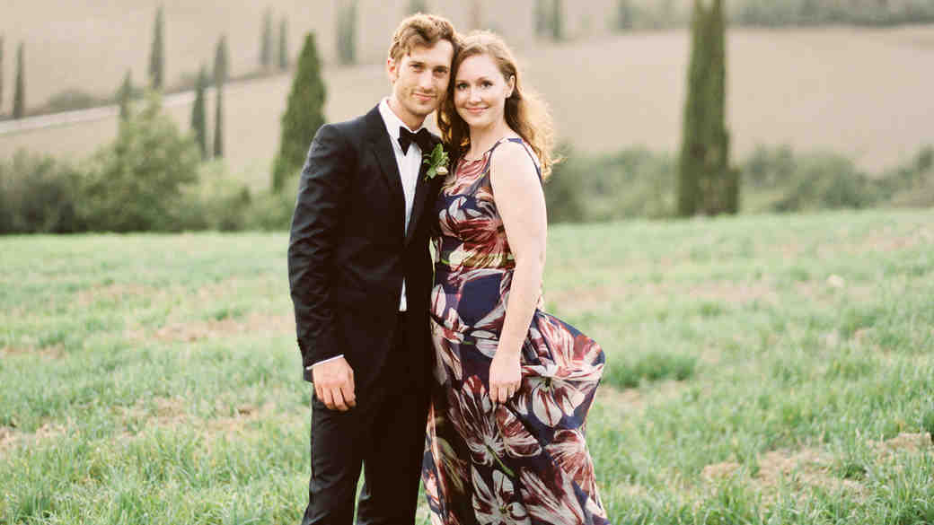 An Intimate Fall Wedding in the Hills of Tuscany