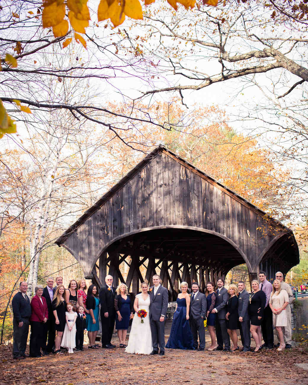 6 Covered Bridges That Make A Romantic Backdrop For A