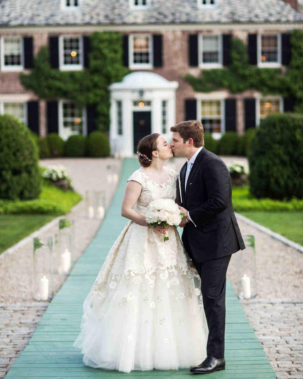 Backyard Wedding Themes: A Peony-Filled Backyard Wedding In New Jersey