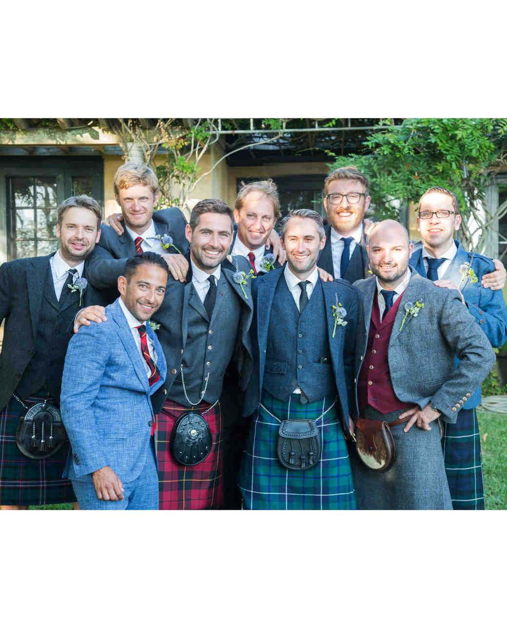 wedding groomsmen kilts