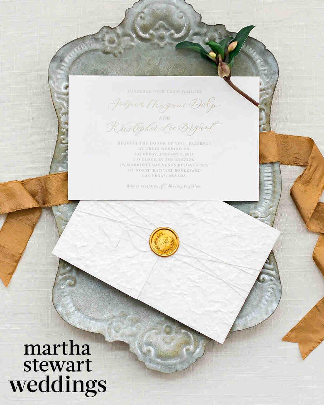 jessica and kris bryant wedding invitation