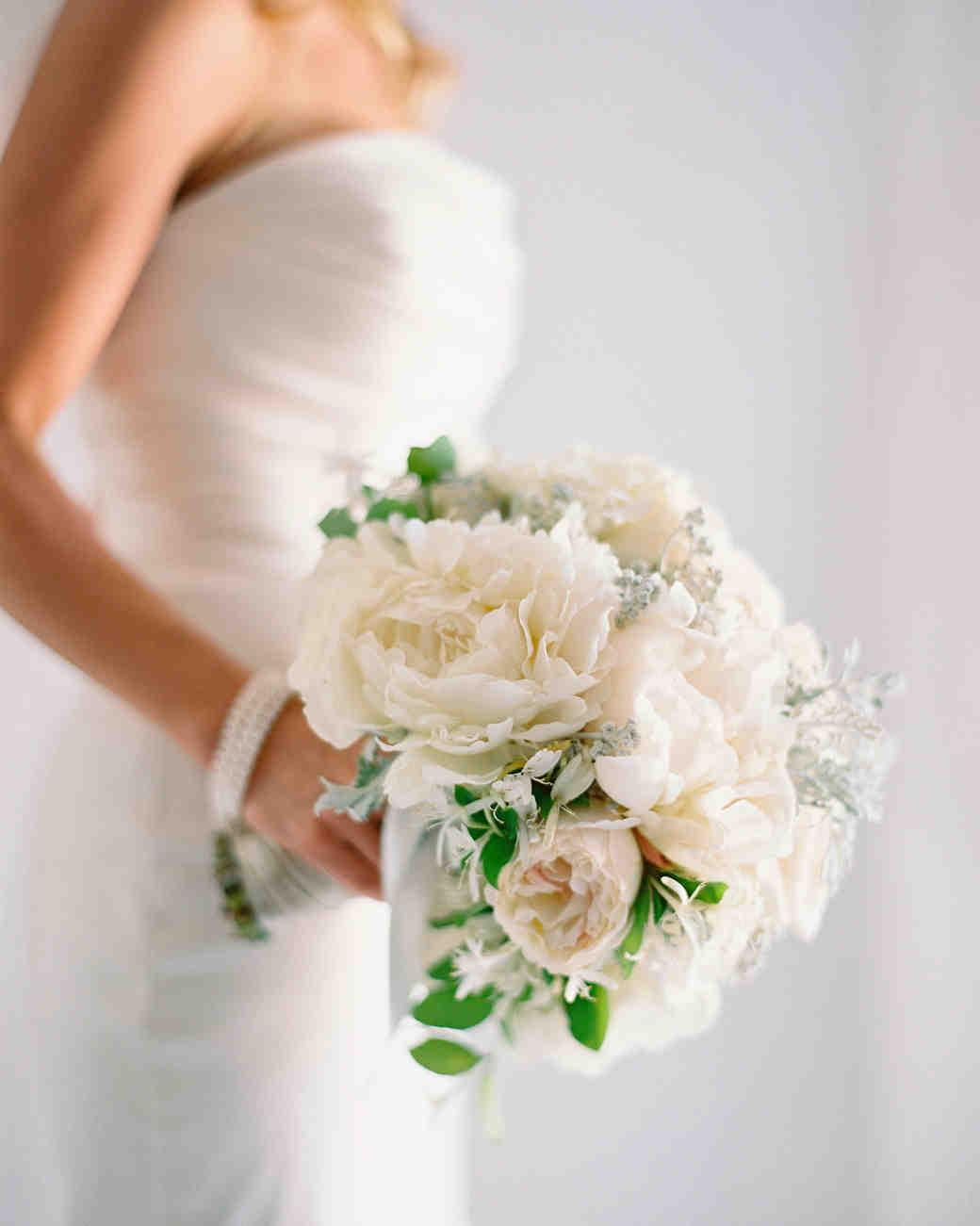 Classic White Wedding Bouquet