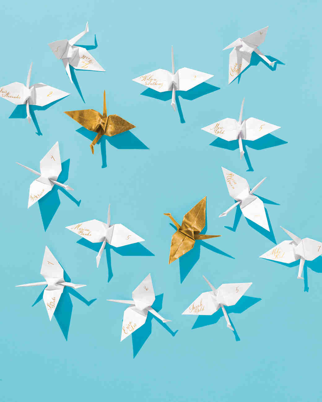 How to Make An Origami Crane for Your Wedding