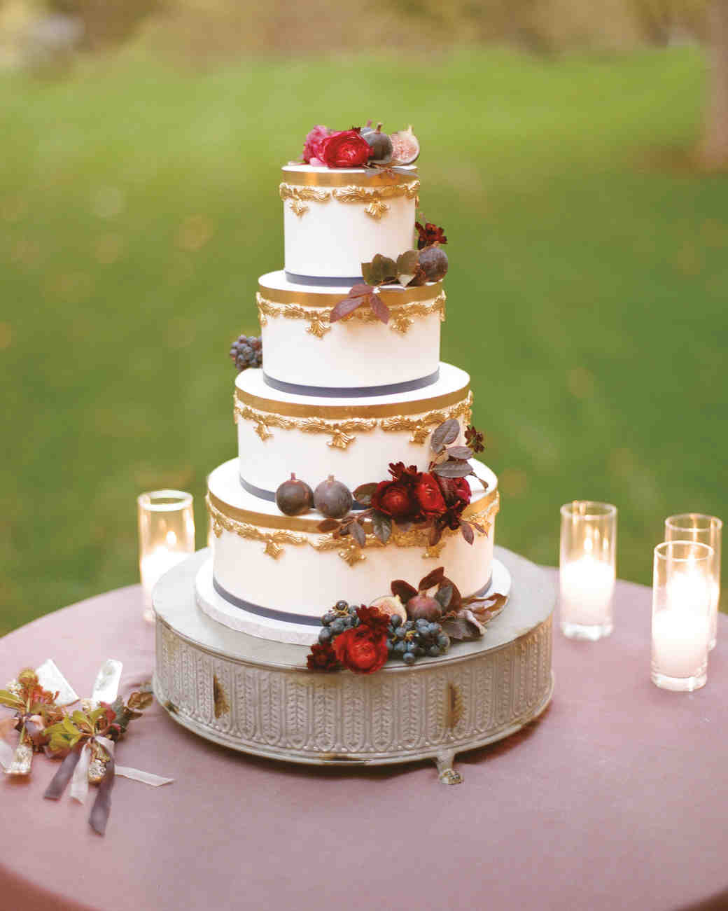 53 Fall Wedding Cakes Were Obsessed With