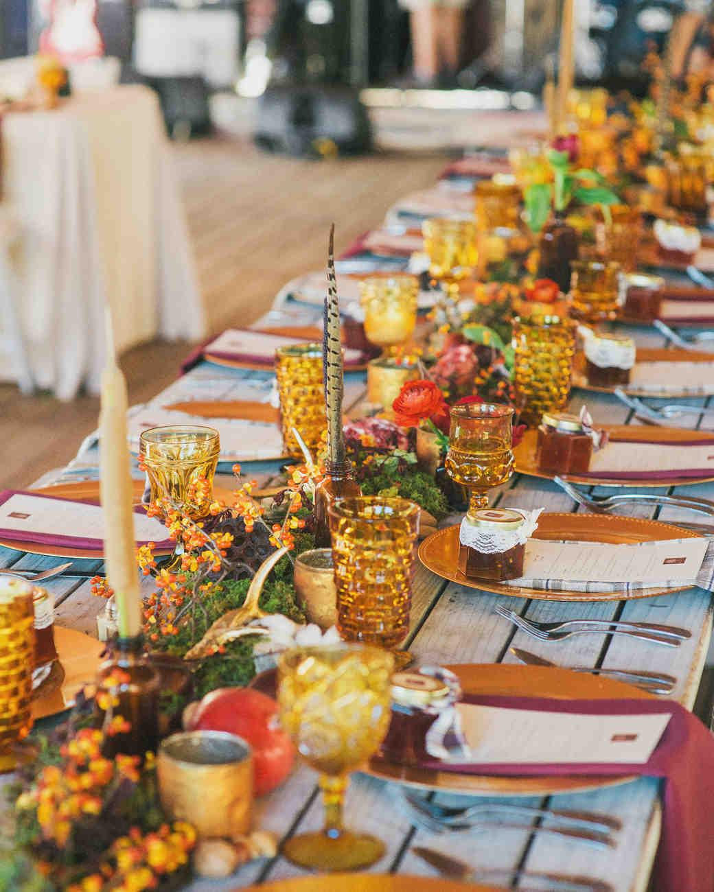Rustic Fall Wedding Favor Ideas: 51 Rustic Fall Wedding Centerpieces