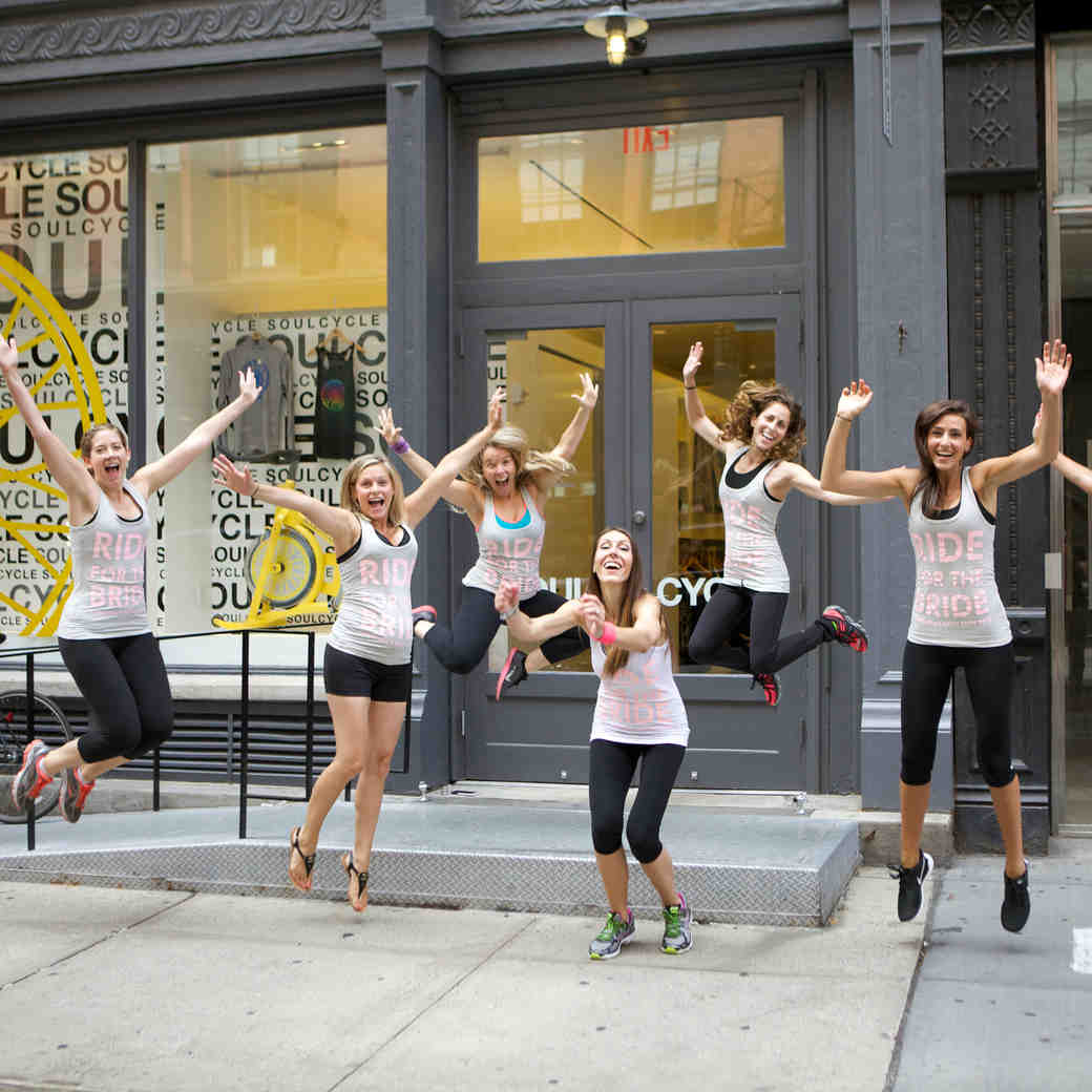 6 Ways to Have Fun Getting Fit with Your Bridesmaids