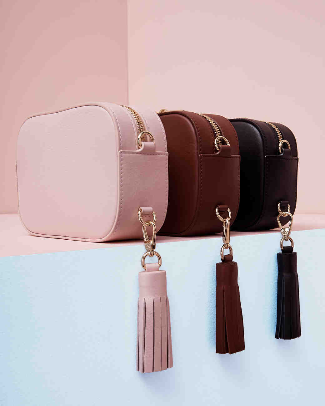 Bridesmaid gift idea Pop and Suki camera bag cross-body purse
