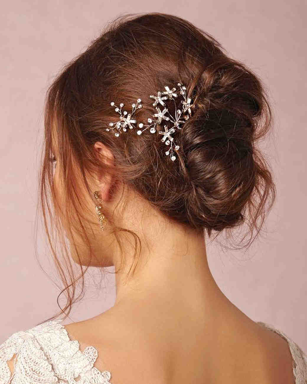 Celestial-Inspired Headpieces for a Winter Wedding ...