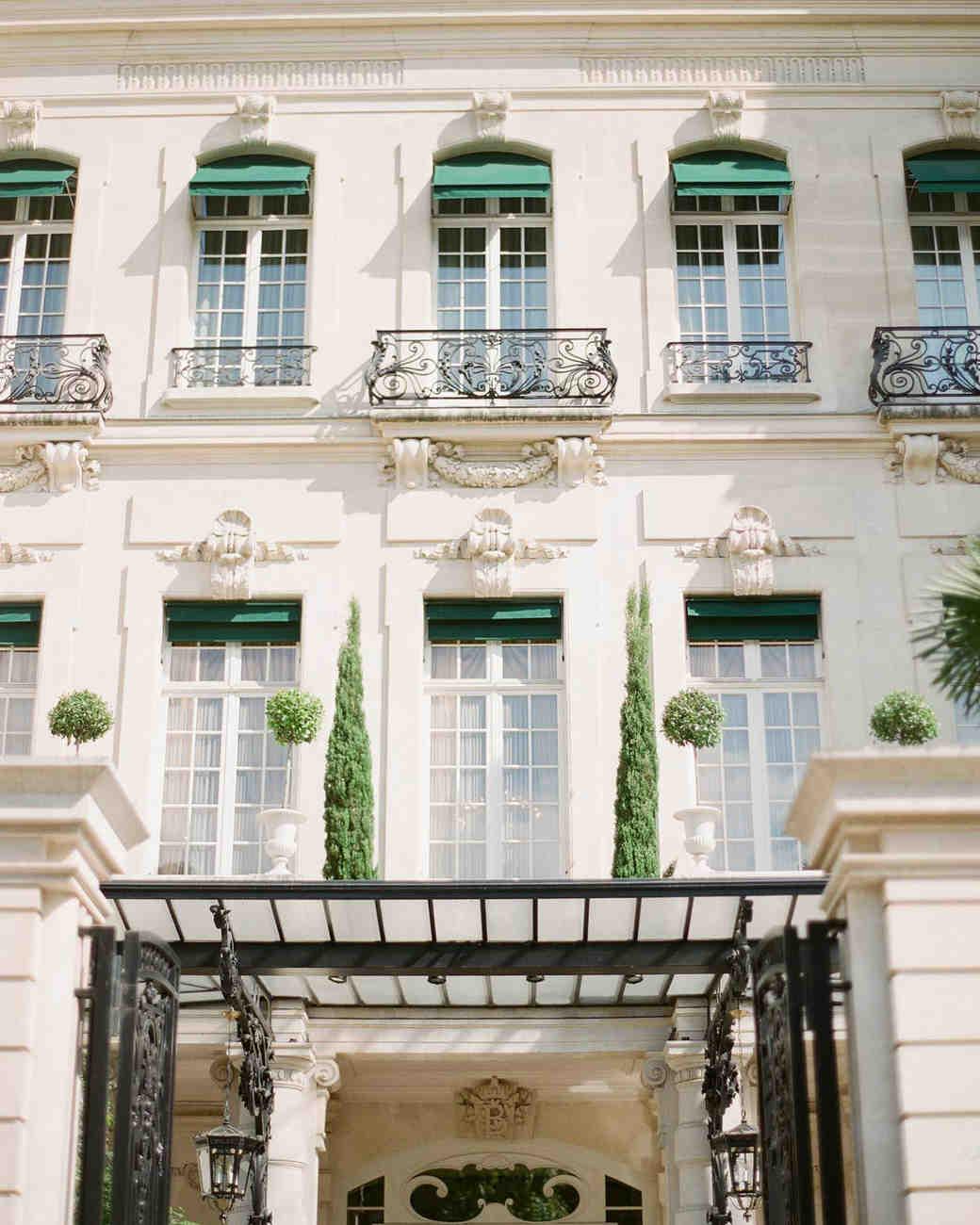 Paris wedding hotel