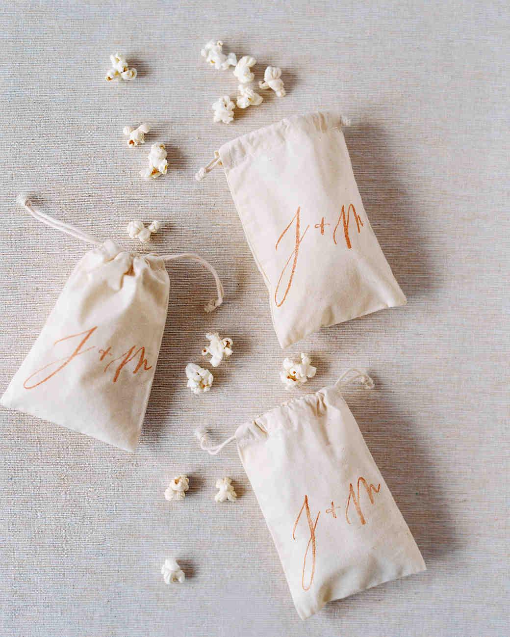 Mini Popcorn Favors