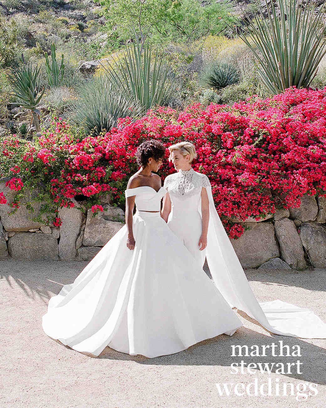 samira wiley lauren morelli wedding brides