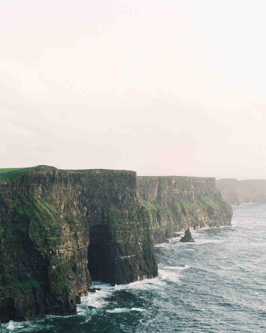 ireland cliffs landscape