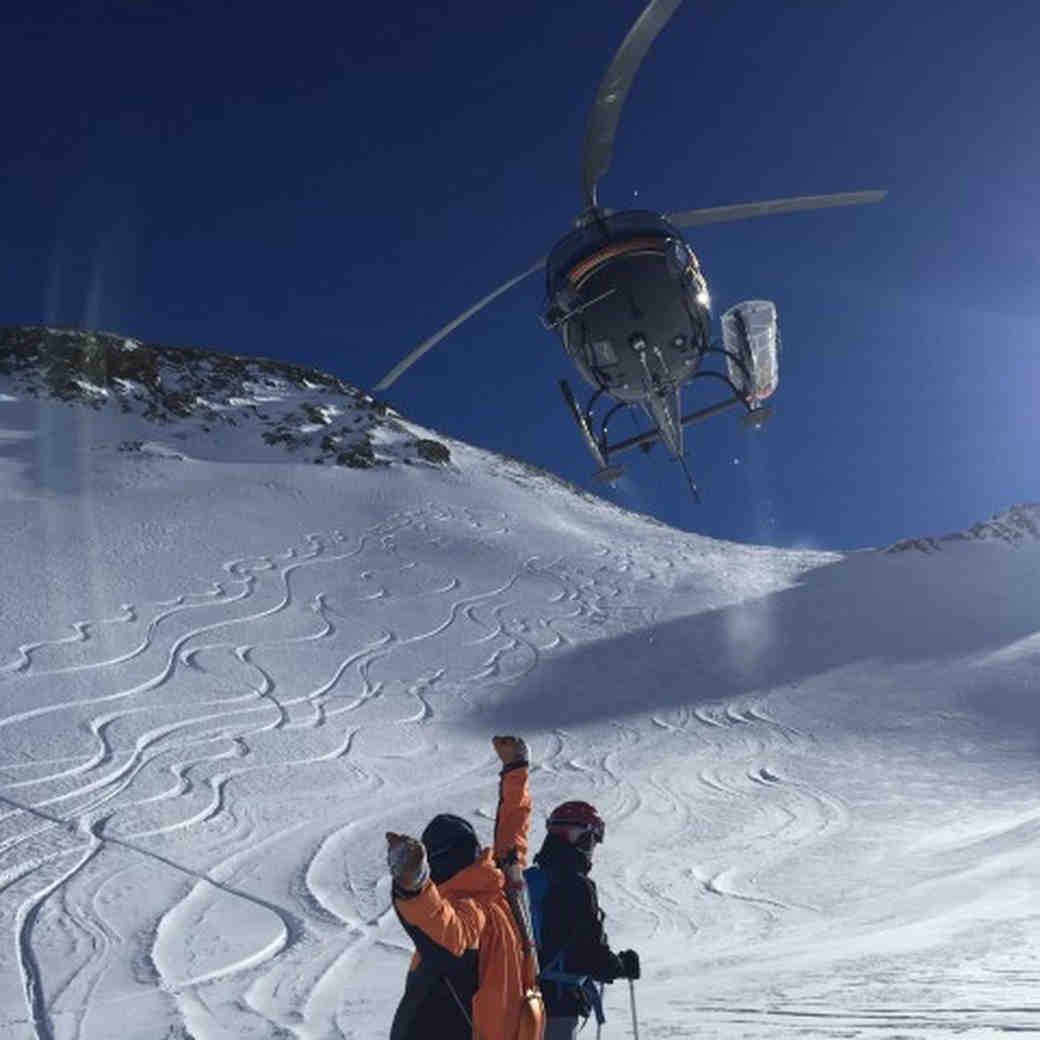 Telluride Helitrax heli-skiing