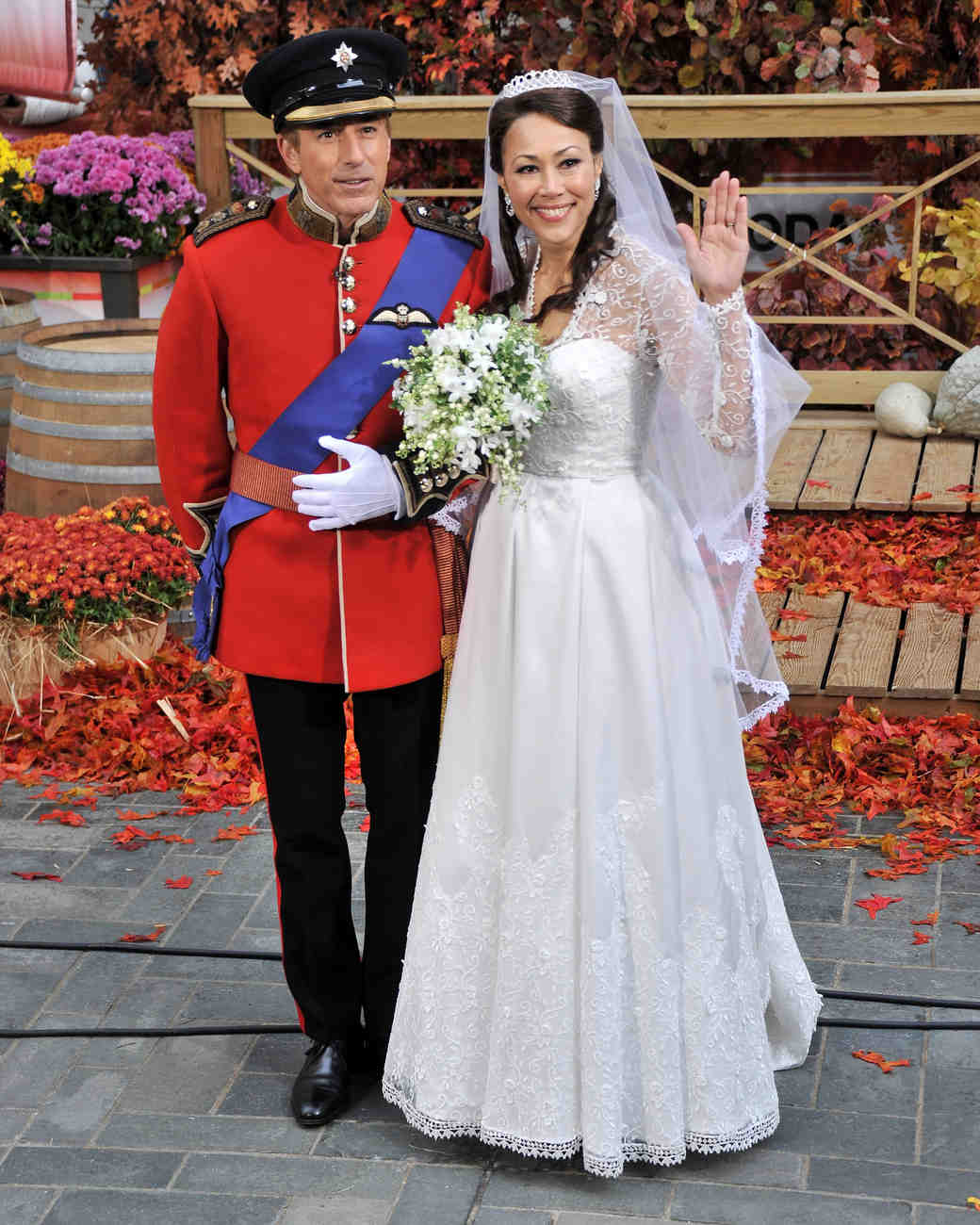 Ann Curry kate middleton costume