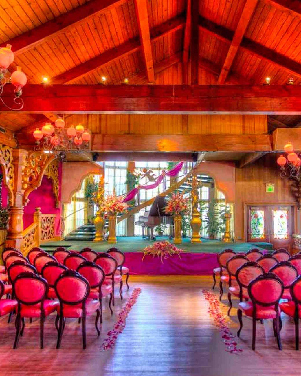 World S Most Colorful Wedding Venues Martha Stewart Weddings