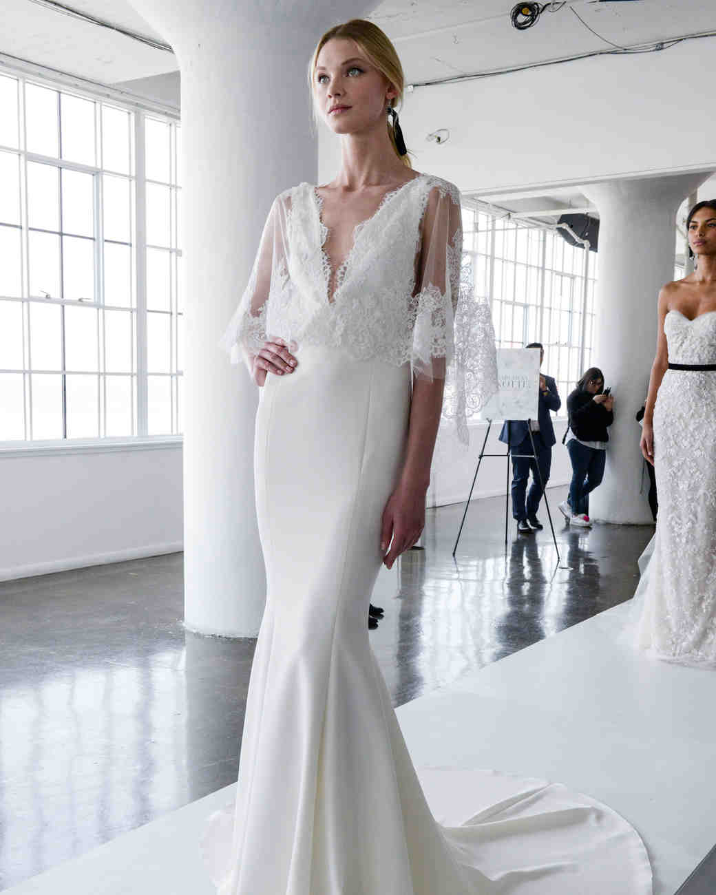 marchesa wedding dresses spring marchesa wedding dresses marchesa spring wedding dress with lace bodice and v neckline