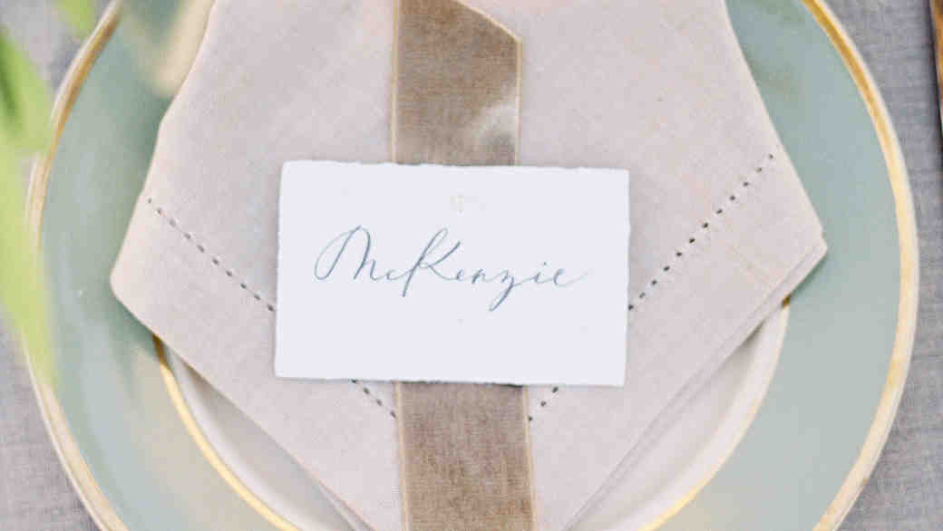 Place Card Rules to Follow (and a Few to Skip)