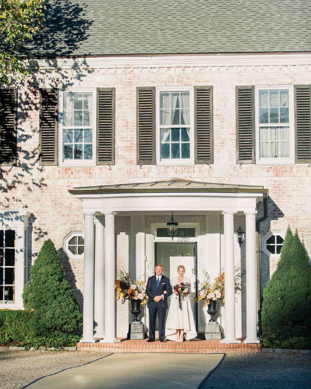 sarah greg new jersey wedding processional