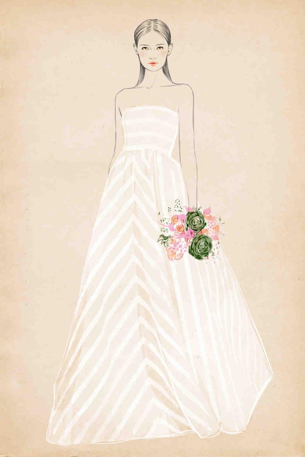 Learn Your Dress Silhouettes - Martha Stewart Weddings