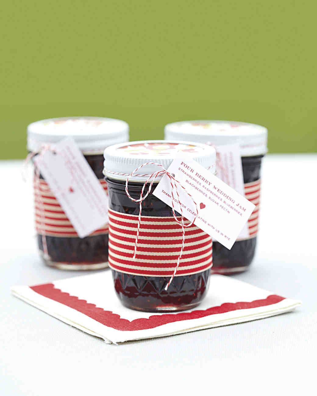 Jam Jar Favors