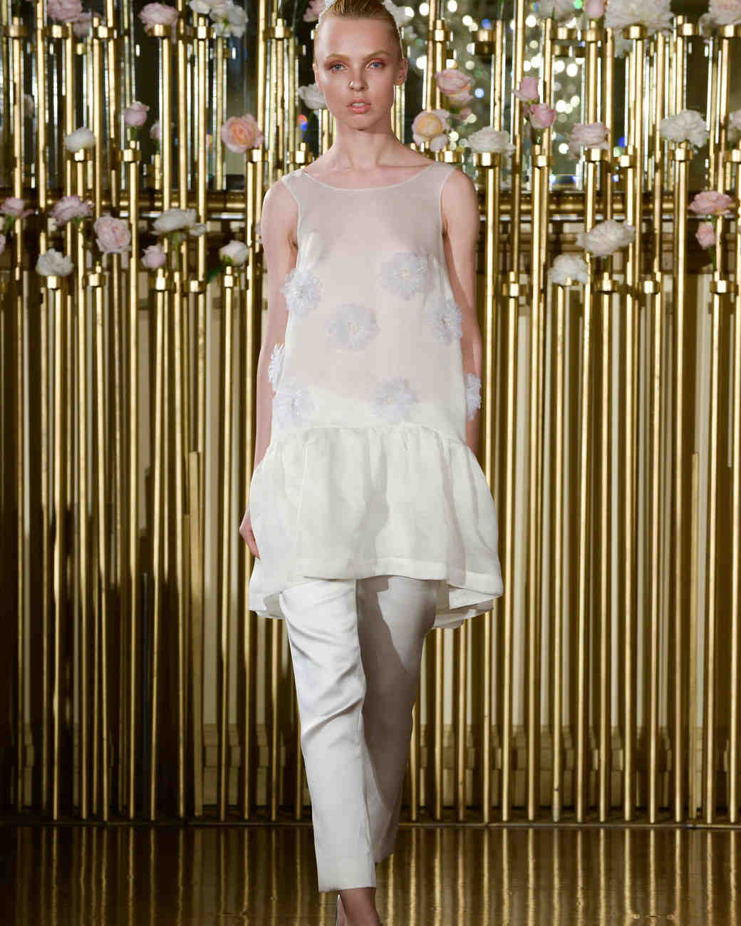 Francesca Miranda Wedding Tank and Pants Spring 2018