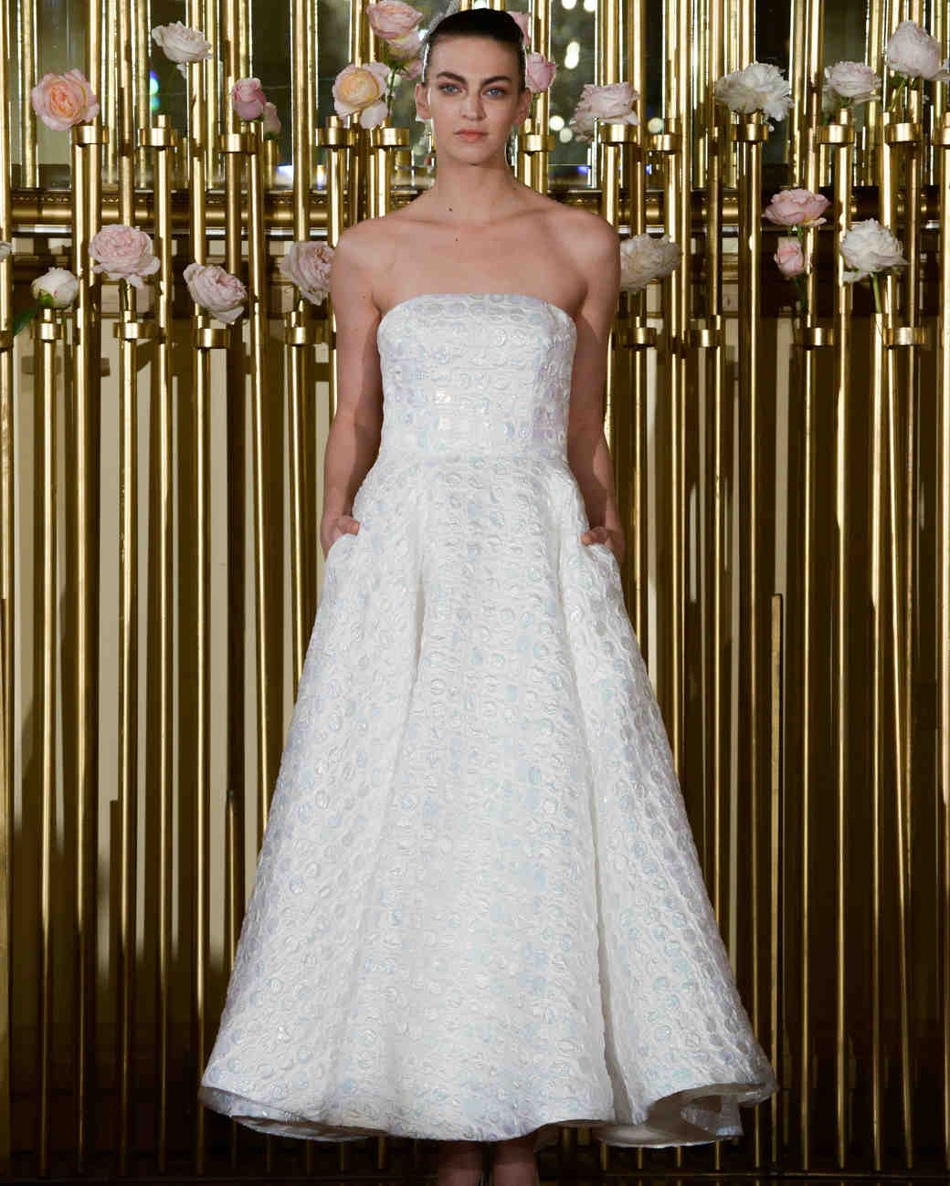 Strapless Francesca Miranda Ball Gown Spring 2018