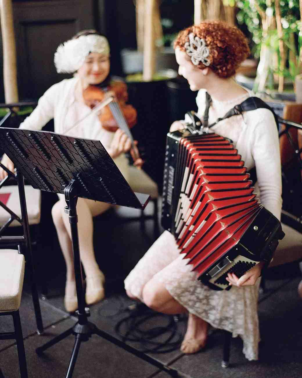 glara matthew wedding live jazz musicians