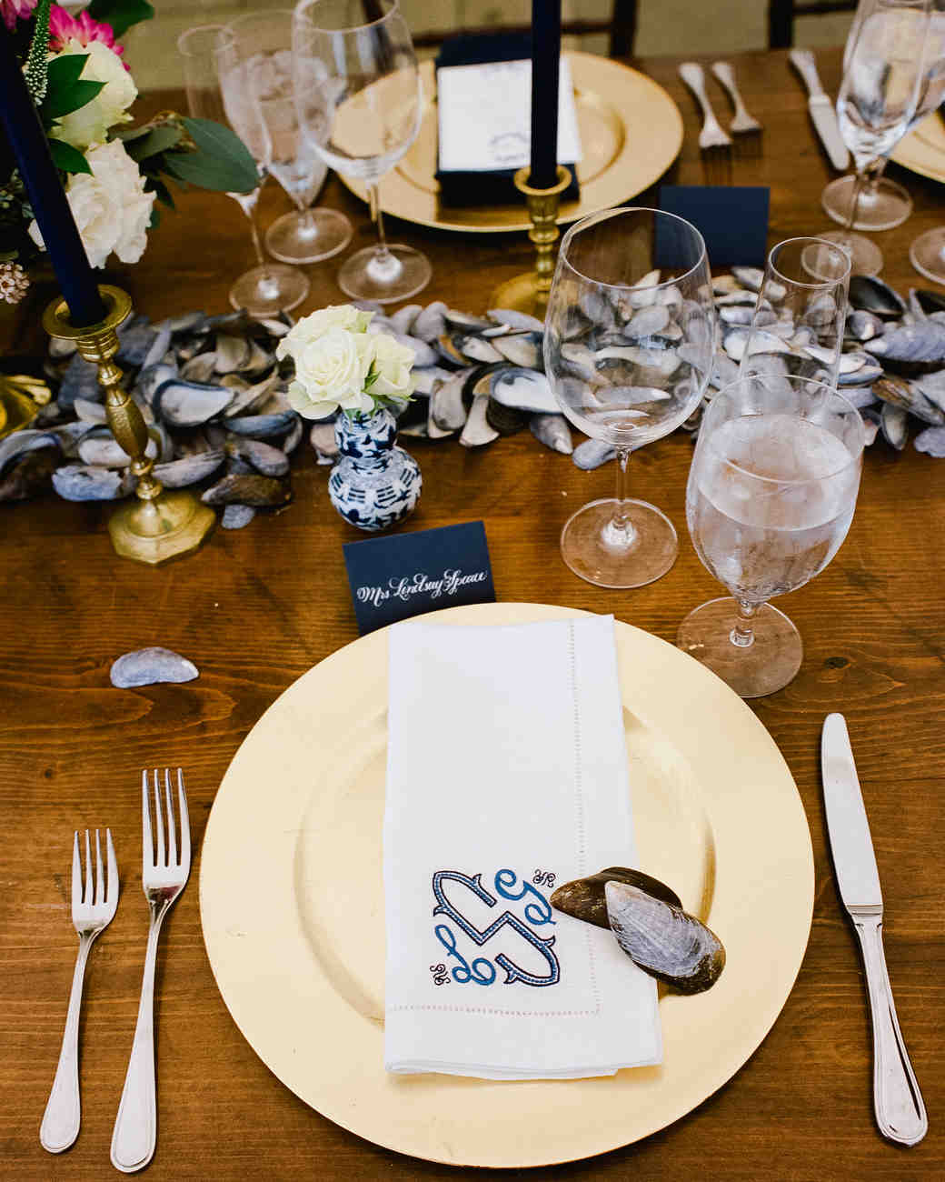Mussel Shell Centerpiece