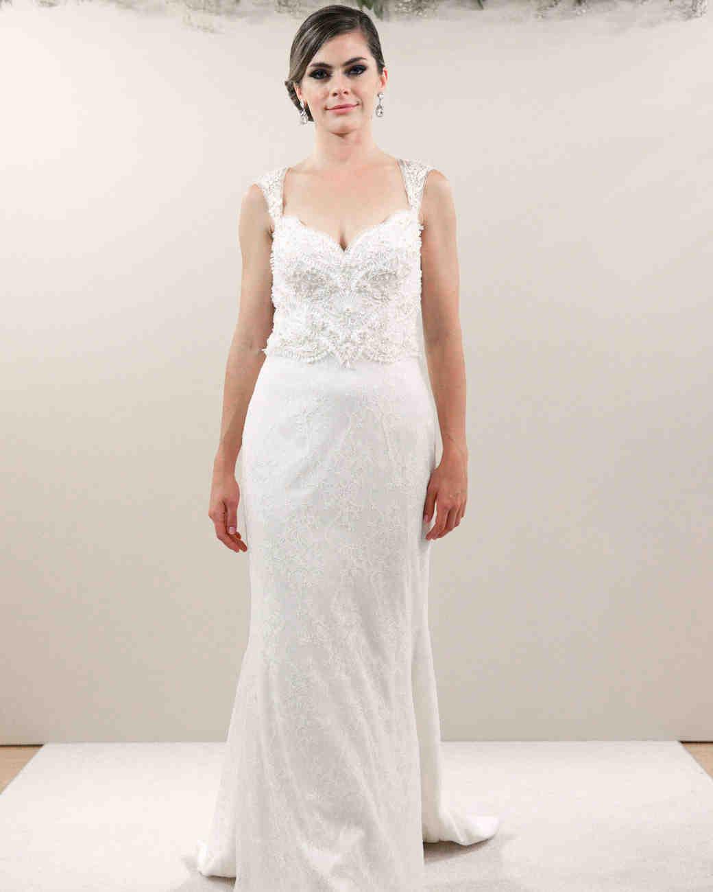 Matthew Christopher Fall 2017 wedding dress collection