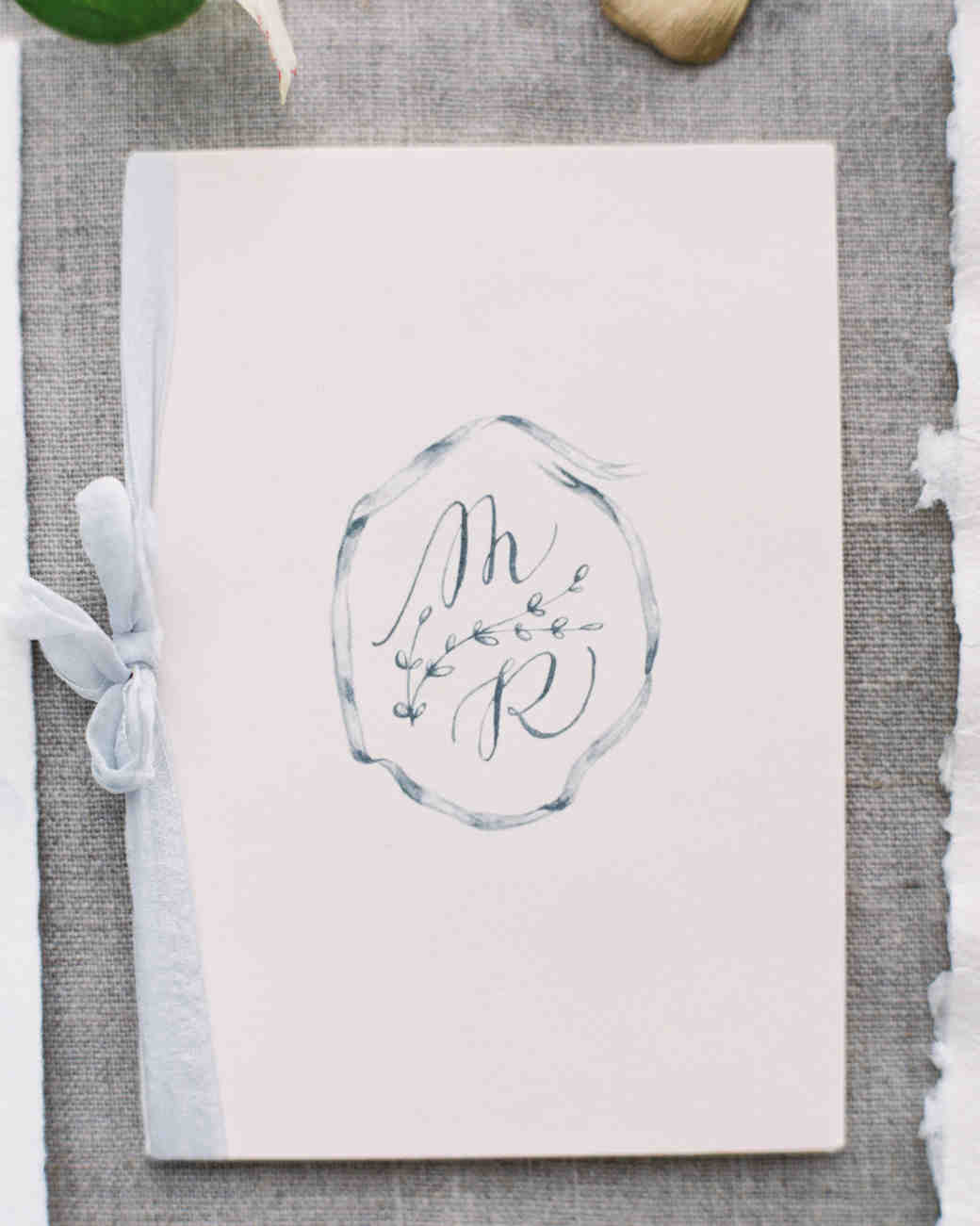 Wedding Program Booklet