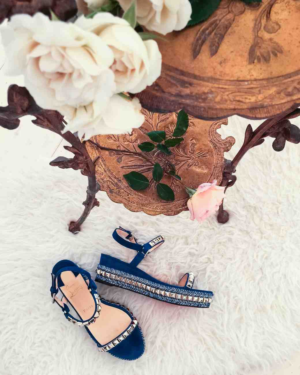 wedding shoes flatforms